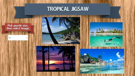 Tropical Jigsaw Puzzle - screenshot