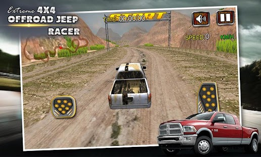 Extreme 4X4 Offroad Jeep Racer - screenshot