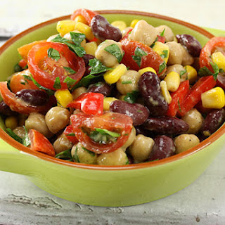 Chickpea & Bean Salad