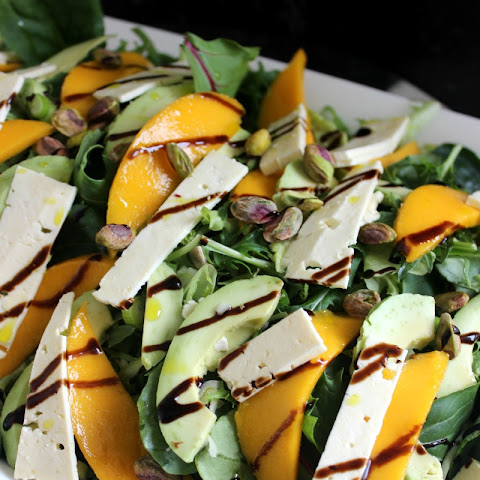 Mango and feta Summer salad