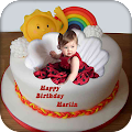 Name Photo on Birthday Cake APK for Bluestacks