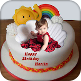Name Photo on Birthday Cake apk for android