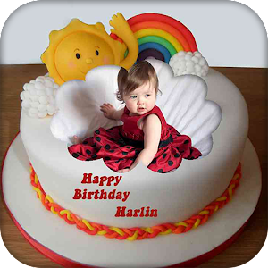 Images Of Birthday Cake With Name Raman : Name Photo on Birthday Cake - Android Apps on Google Play