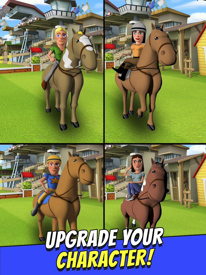 Cartoon Horse Riding Game Free Screenshot 7
