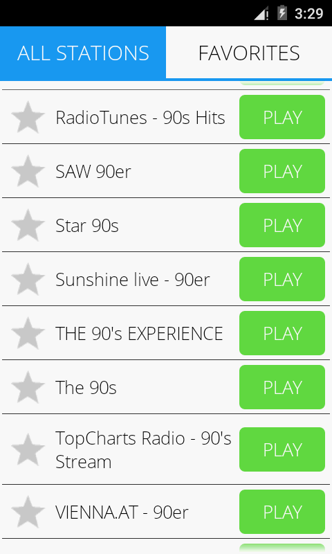 90s Music Radio Pro Screenshot 4