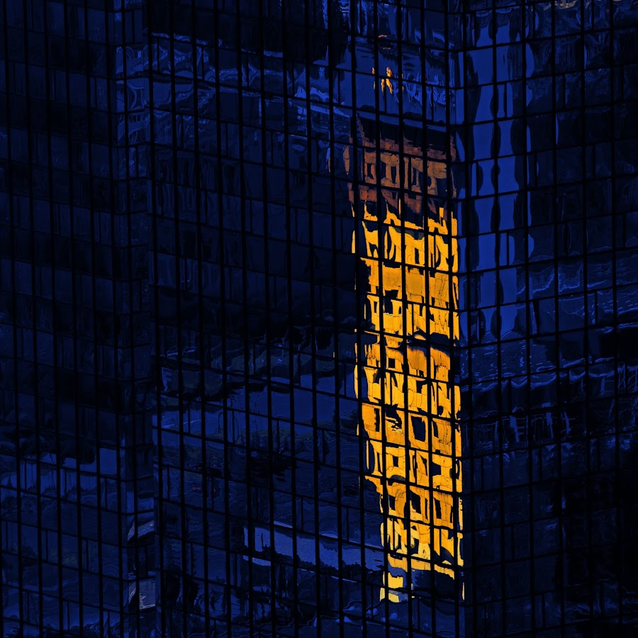 reflections of the city by Brut Carniollus - Abstract Fine Art ( abstract, digital collage, architecture, reflection, reflections, people, places, building, World, Beauty, Beautiful, Representing, Special, mirror, color, colors, landscape, portrait, object, filter forge, vertical lines, pwc,  )
