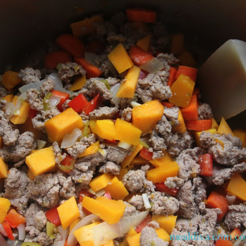 Turkey & Butternut Squash Chili