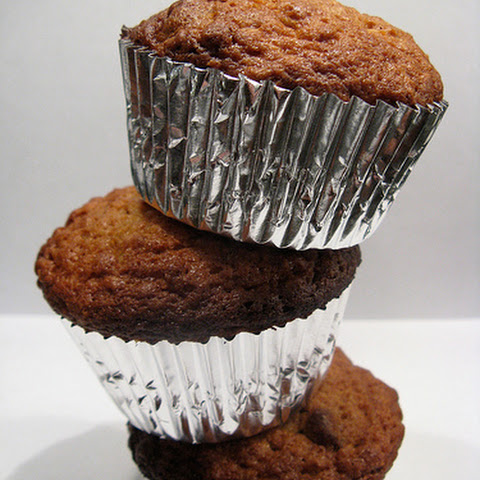 Sweet Potato, Oatmeal & Chocolate Muffins