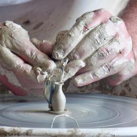 Hands at work by Linda Tams - Uncategorized All Uncategorized (  )