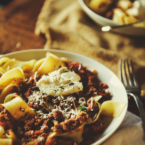 Savory Lamb Ragu with Pappardelle Pasta