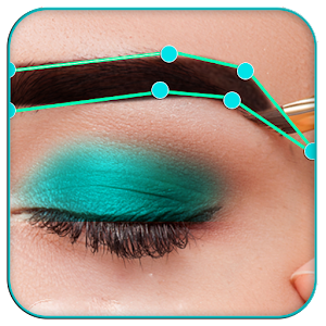 Eyebrow Shaping App - Beauty Makeup Photo For PC