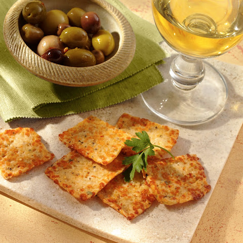Cheese Herb Crisps