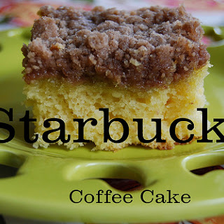 Copycat Recipe – Starbucks Coffee Cake