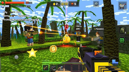 Pixelmon shooting – online go Screenshot