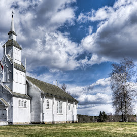 Svindal Church Norway by Dirk Rosin - Buildings & Architecture Public & Historical