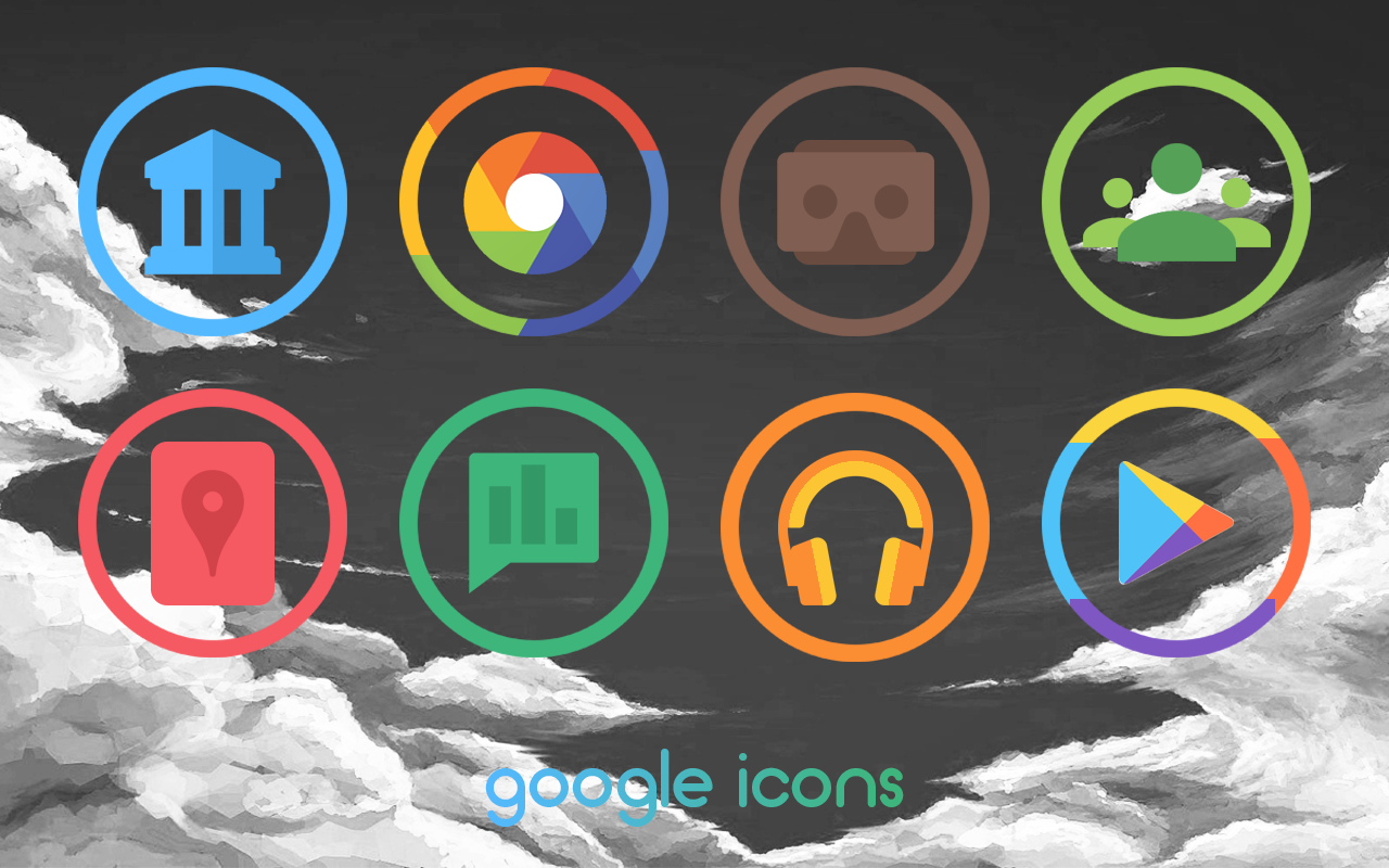 Revolve UI - Icon Pack Screenshot 1