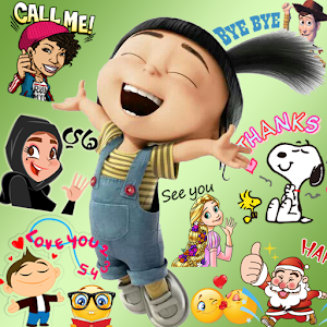 Emoji HD Talking Stickers Icon