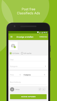 EBay Kleinanzeigen For Germany APK screenshot thumbnail 5