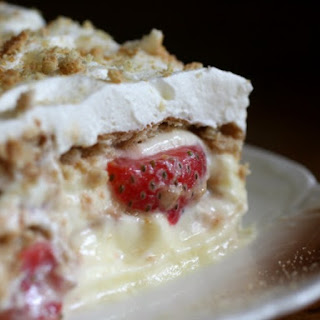 Easy No-Bake Strawberry Shortcake