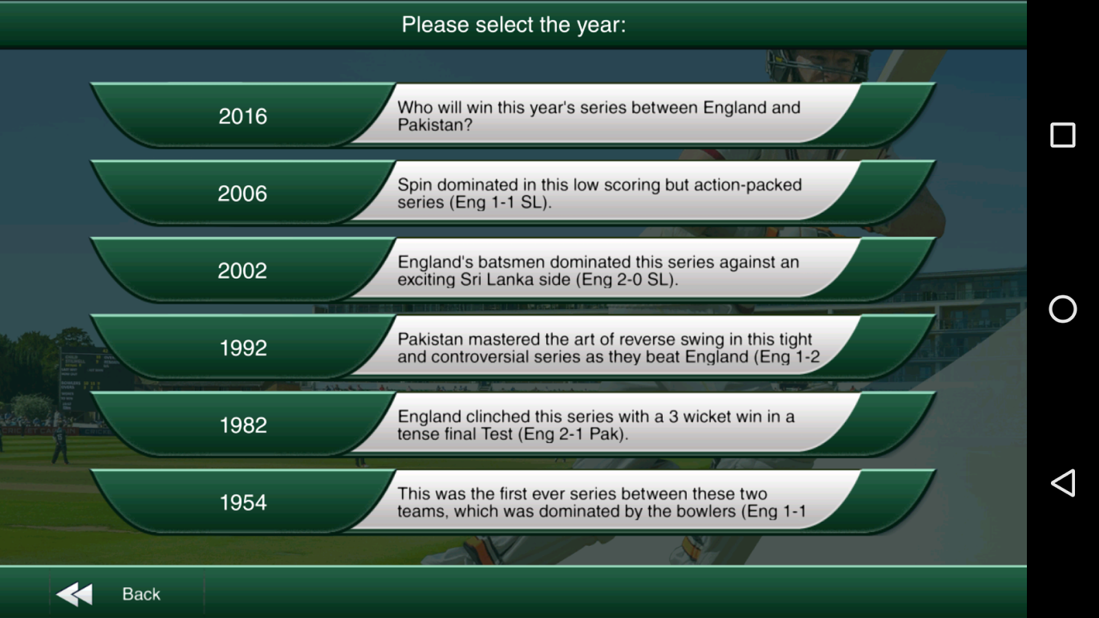 Cricket Captain 2016 Screenshot 7