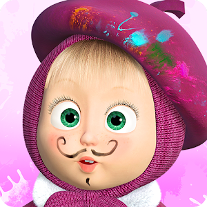 Masha and the Bear: Free Coloring Pages for Kids For PC (Windows & MAC)