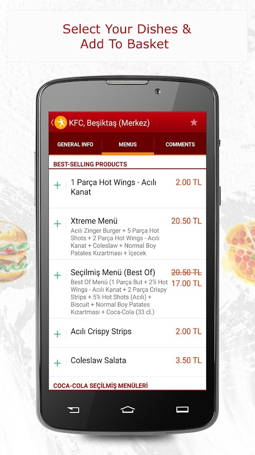 Yemeksepeti -Order Food Easily Screenshot 1