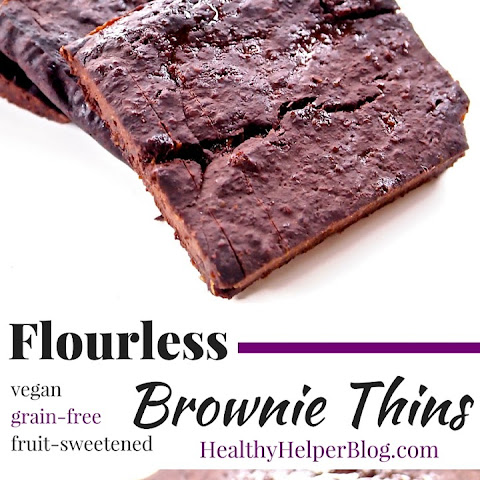 Flourless Brownie Thins