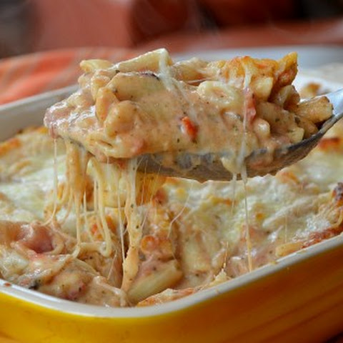 Crowd Pleasing Weeknight Baked Ziti