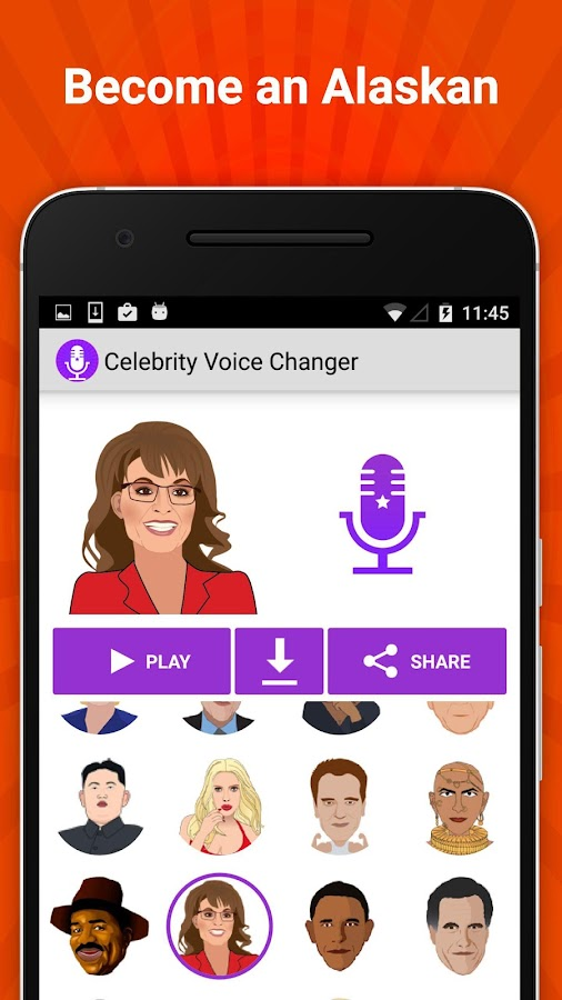 Celebrity Voice Changer Fun FX Screenshot 4