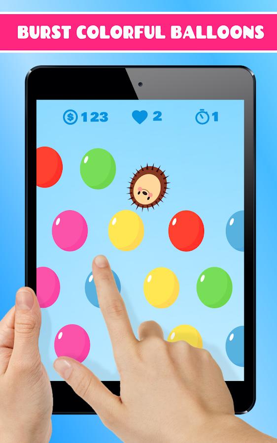hedgy pop hedgehog burst ballons und blasen android spiele download. Black Bedroom Furniture Sets. Home Design Ideas