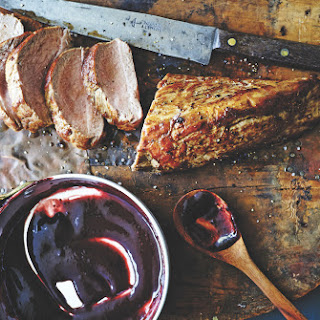 Cast-Iron Pork Tenderloin With Blackberry Bourbon Barbecue Sauce