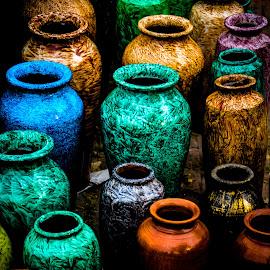 Colour Pot by Sourav Das - Artistic Objects Still Life
