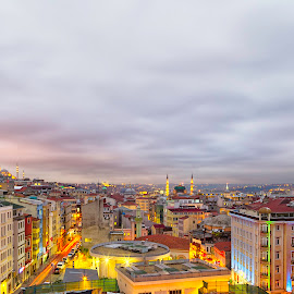 Grand View Istanbul by Azeem Shah - Landscapes Travel ( #nikon, #turkey, #istanbul, #canon, #travel )