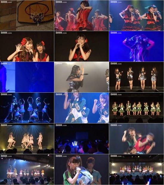 """(LIVE)(公演) SKE48 チームKII """"ラムネの飲み方"""" 高塚夏生の生誕祭 140827"""