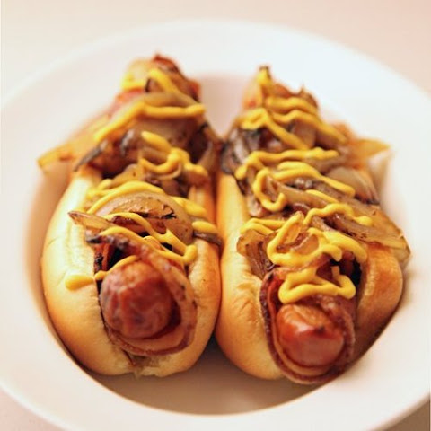 Bacon-Wrapped Hot Dogs