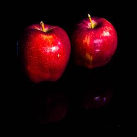 Apple by Amit Baran Sen - Food & Drink Fruits & Vegetables