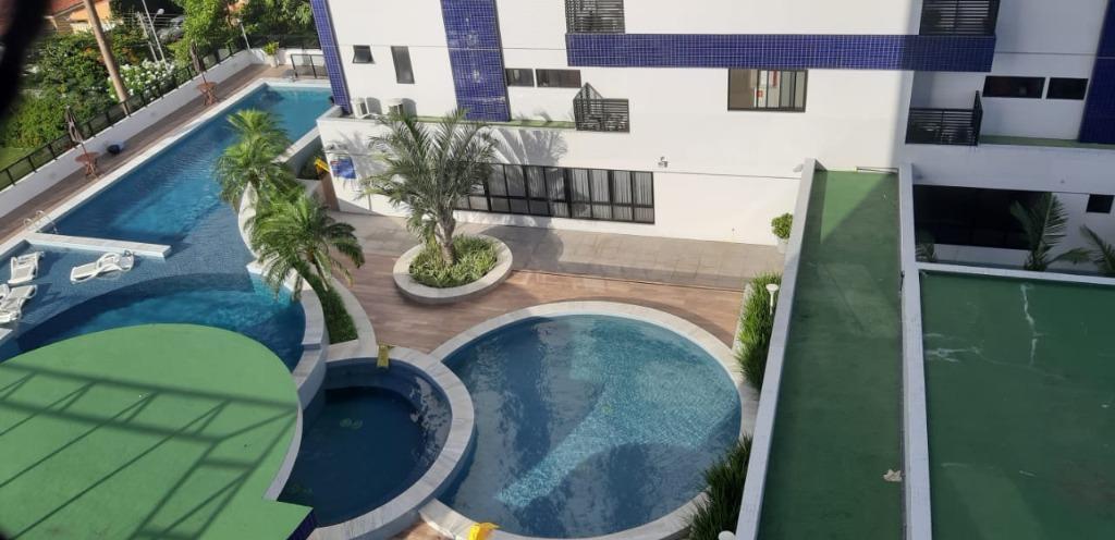 Apartamento com 3 dormitórios para alugar, 75 m² por R$ 1.490,00/mês - Bairro dos Estados - João Pessoa/PB