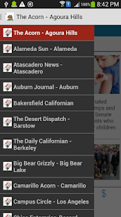 California News - screenshot