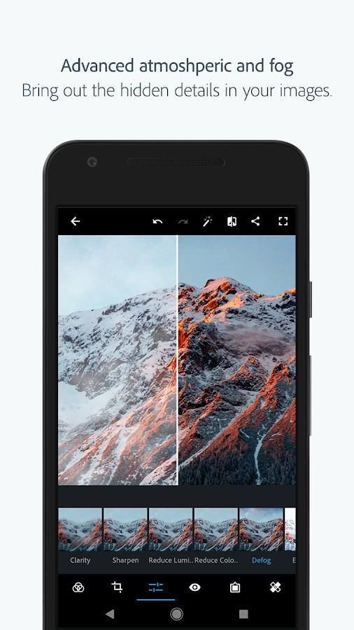 Adobe Photoshop Express: Easy & Quick Photo Editor Screenshot 1