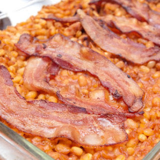 Homemade Baked Beans with Bacon