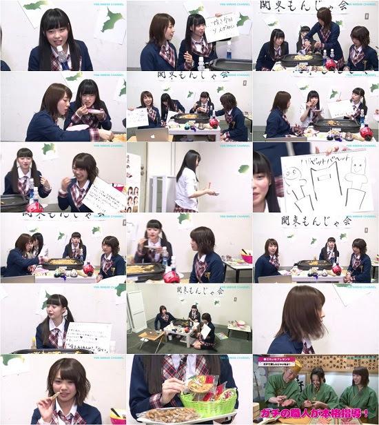 (TV-Variety)(720p) YNN [NMB48チャンネル] 関東もんじゃ会 150708