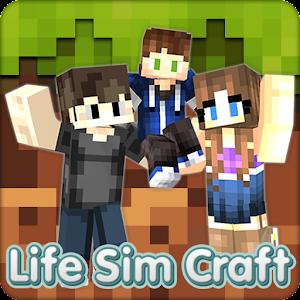 Life Sim Craft For PC