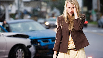 Young woman who has been in an accident --- Image by © Image Source/Corbis