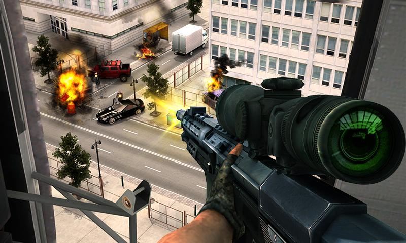 Gangster Escape Shooter 3D Screenshot 2
