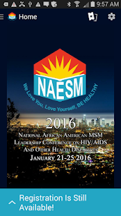 NAESM Leadership Conference - screenshot
