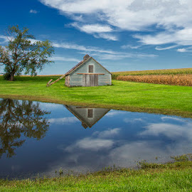 Countryside by Ken Smith - Buildings & Architecture Decaying & Abandoned ( barn, landscape, nebraska )
