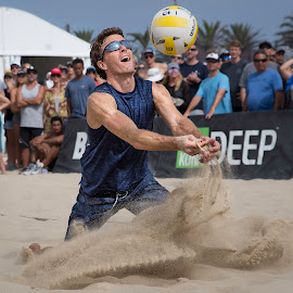 AVP3 by Justin Brockman - Sports & Fitness Other Sports ( sand, defense, avp, volleyball, dig )
