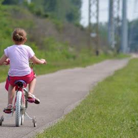 Riding by Bridget Wegrzyn - City,  Street & Park  City Parks (  )