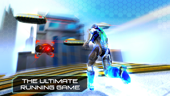 RunBot - Rush Runner Robot: Parkour & Running Game Screenshot