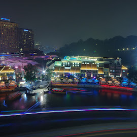 by Ken Goh - City,  Street & Park  Night